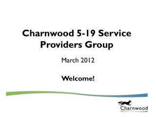 Charnwood 5-19 Service Providers Group