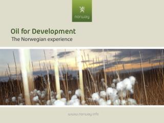 Oil for Development