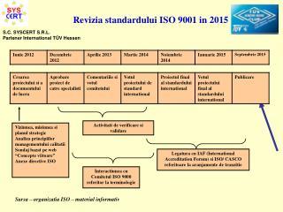 Viziunea, misiunea si planul strategic Analiza principiilor managementului calitatii