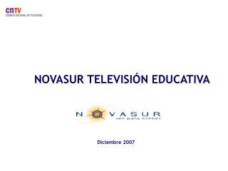 NOVASUR TELEVISI�N EDUCATIVA