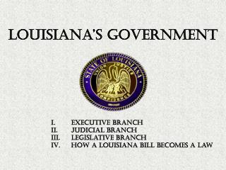 Louisiana's Government