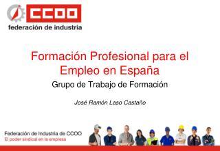 Formación Profesional para el Empleo en España