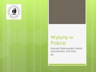 Wy?yny w Polsce
