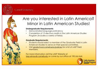 Are you interested in Latin America? Minor in Latin American Studies!