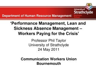 HR Strategies for Tough Economic Times: