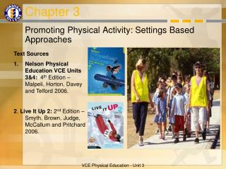 Promoting Physical Activity: Settings Based Approaches