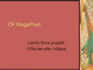 ÕF MegaPixel