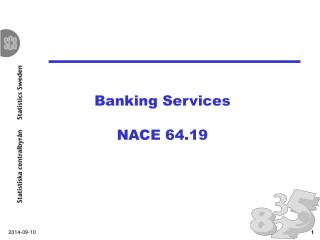Banking Services NACE 64.19