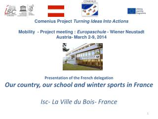 Comenius Project  Turning Ideas Into  Actions