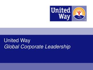 United Way Global Corporate Leadership