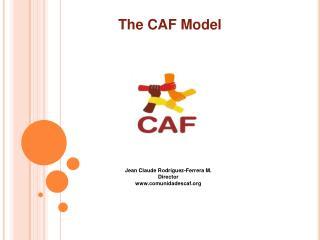 Jean Claude Rodríguez-Ferrera M. Director comunidadescaf