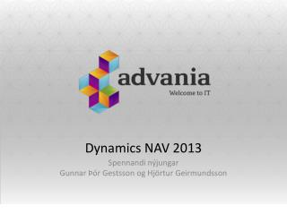 Dynamics NAV 2013
