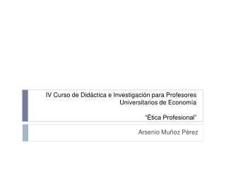 Arsenio Muñoz Pérez