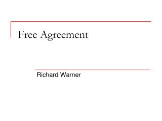 Free Agreement