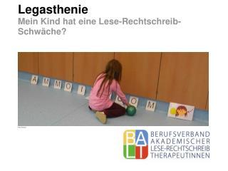 Legasthenie Mein Kind hat eine Lese-Rechtschreib-Schwäche?