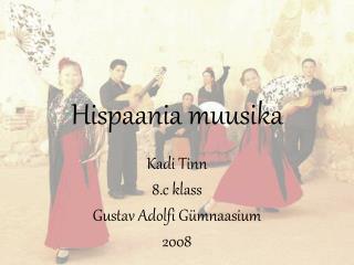 Hispaania muusika