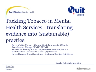 Training  education in smoking cessation