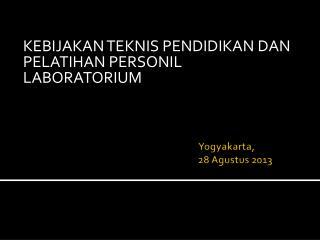 Yogyakarta,  28 Agustus 2013