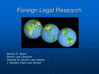 Foreign Legal Research