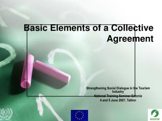 Basic Elements of a Collective Agreement