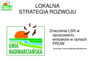 LOKALNA STRATEGIA ROZWOJU