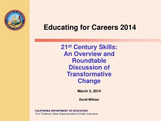 Educating for  Careers 2014