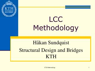 LCC Methodology