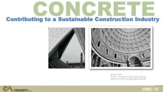Contributing to a Sustainable Construction Industry