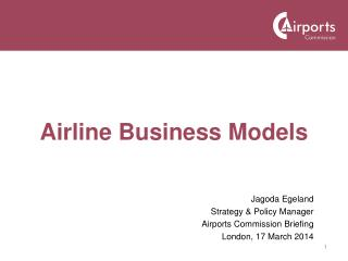 Airline Business Models