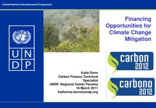 Financing Opportunities for Climate Change Mitigation