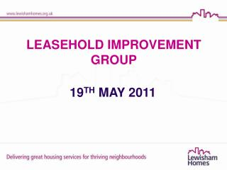 LEASEHOLD IMPROVEMENT GROUP