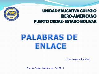 Lcda. Luisana Ramírez Puerto Ordaz, Noviembre De 2011