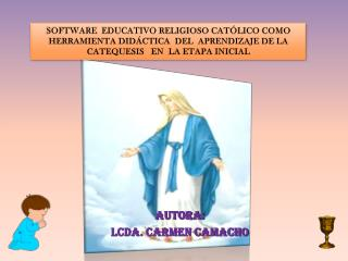 Software   EDUCATIVO  RELIGIOSO CATÓLICO como