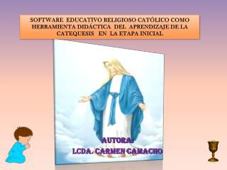 Software   EDUCATIVO  RELIGIOSO CATÓLICO como