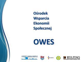 Ośrodek Wsparcia   Ekonomii  Społecznej OWES