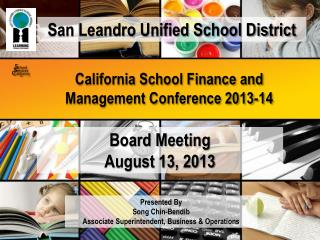 California School Finance and Management Conference 2013-14