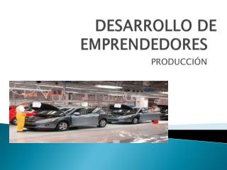 DESARROLLO DE EMPRENDEDORES