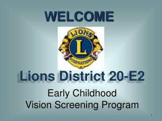 Lions District 20-E2