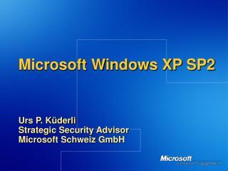 Microsoft Windows XP SP2
