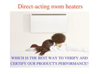 Direct-acting room heaters