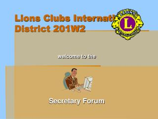Lions Clubs International District 201W2
