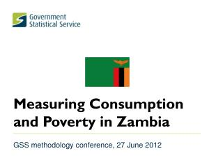 Measuring Consumption and Poverty in Zambia