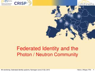 Federated Identity and the  Photon / Neutron Community
