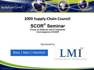 2009 Supply-Chain Council