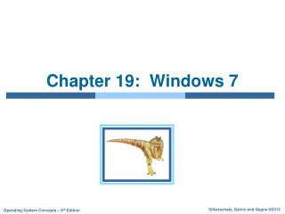 Chapter 19:  Windows 7