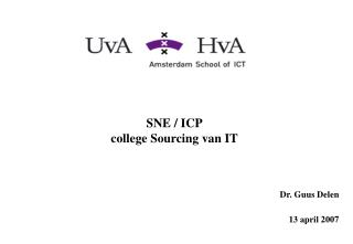 SNE / ICP college Sourcing van IT