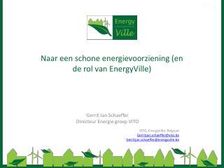 Naar een schone energievoorziening (en de rol van EnergyVille)