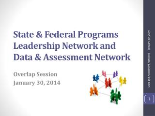 State & Federal Programs Leadership Network and  Data & Assessment Network