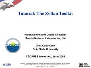 Tutorial: The Zoltan Toolkit