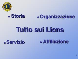 Tutto sui Lions